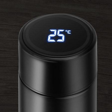 Custom Led Smart Thermal Tumbler